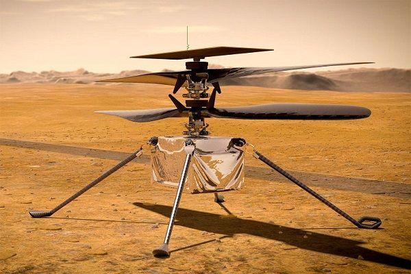 Siap Buat Sejarah, NASA akan Terbangkan Helikopter di Mars