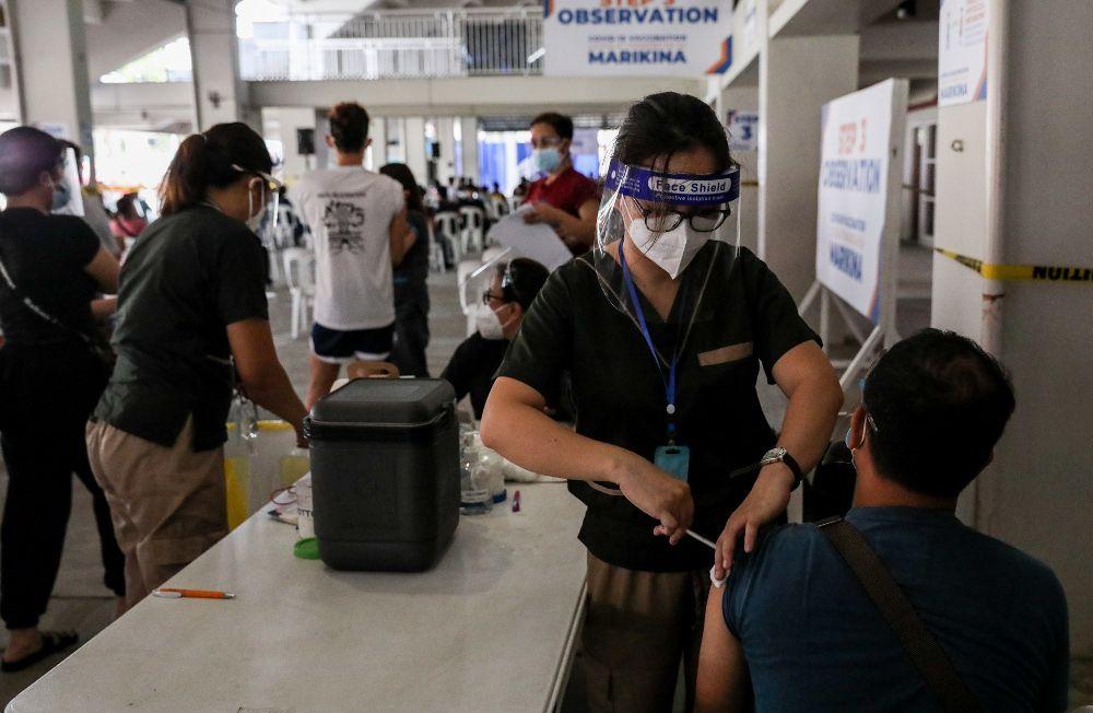 Filipina Perpanjang Lockdown Akibat Lonjakan COVID-19