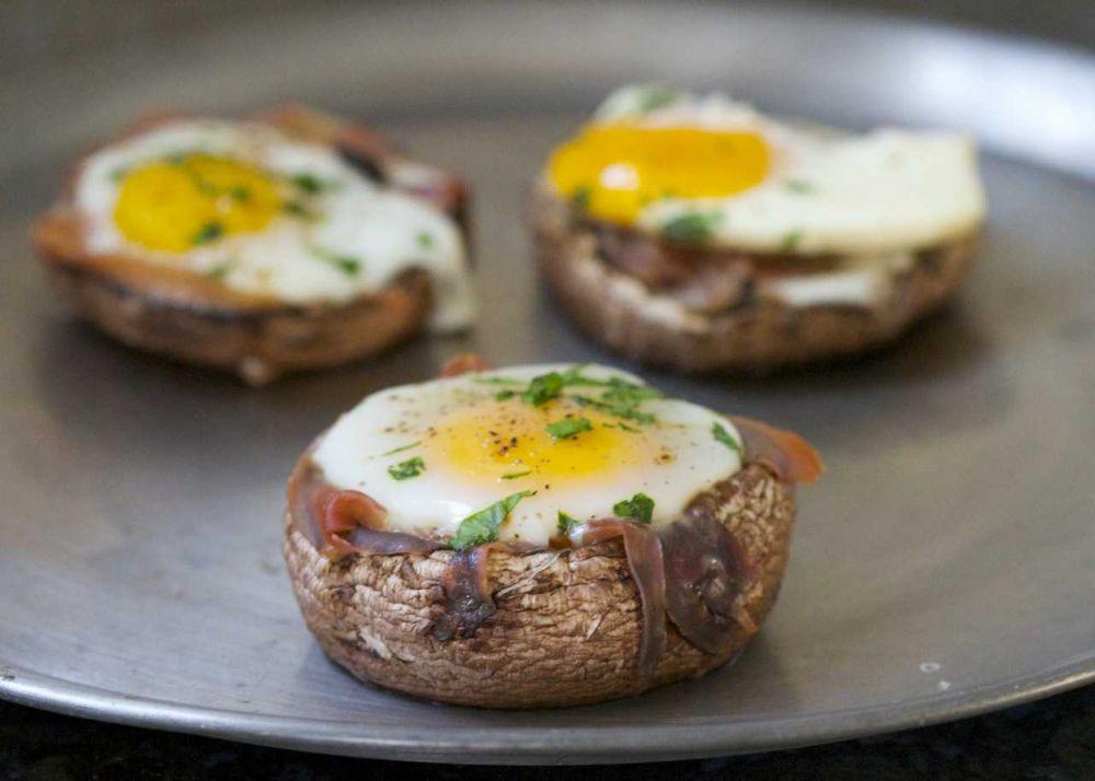 Resep Jamur Isi Telur Panggang, Sajian Simpel yang Mudah Dibuat!