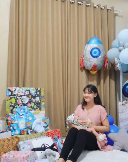 9 Momen Haru dan Bahagia Akikah Baby Keenan Anak Ana Riana TOP