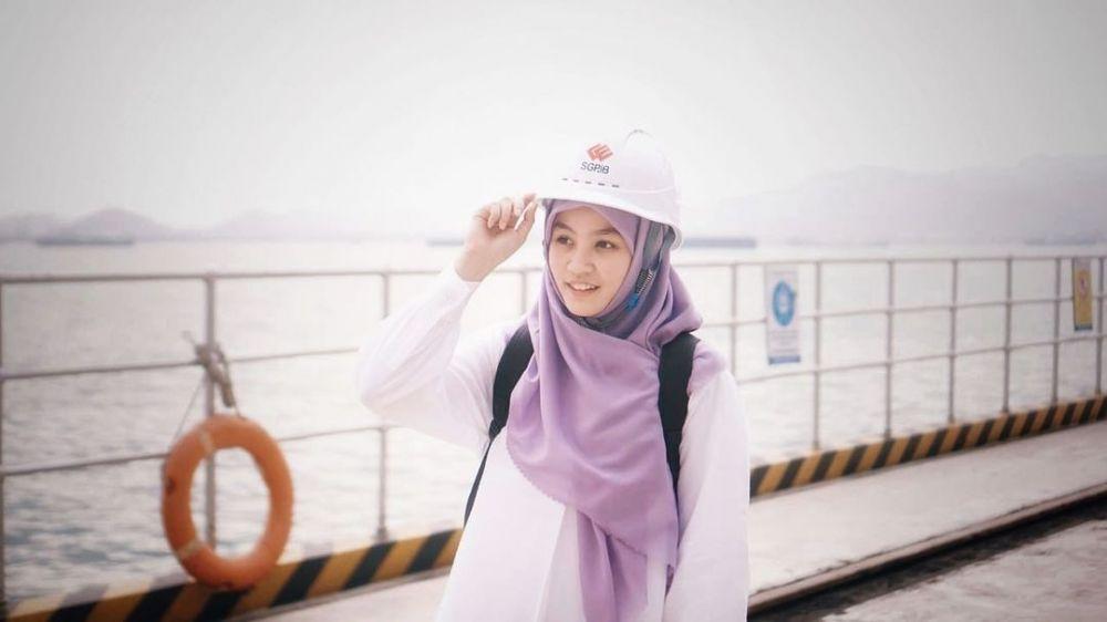 10 Potret Marcellia Dwi, Istri Hamas Syahid yang Anggun dan Bersahaja