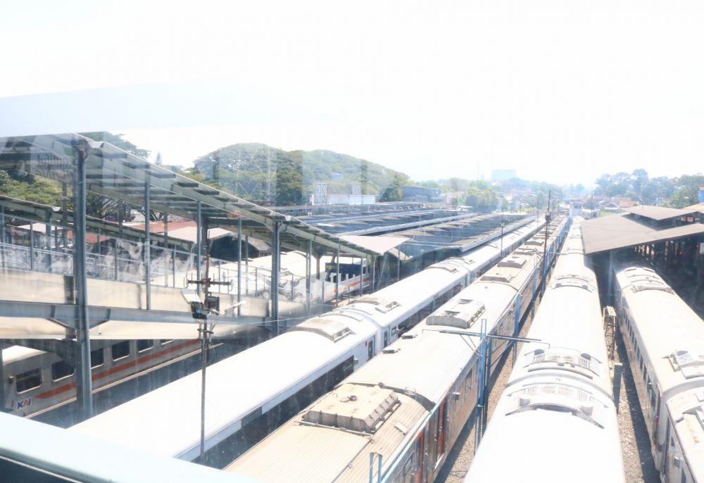 Stasiun Kota Malang Sisi Timur Beroperasi untuk Umum