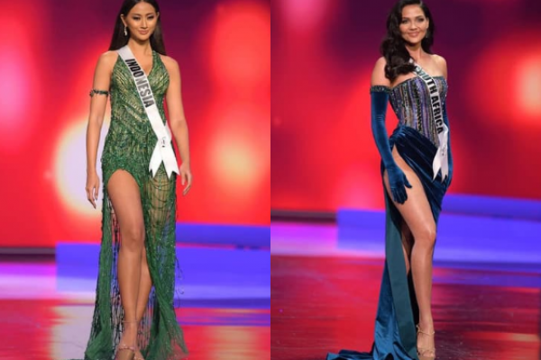 10 Momen Kontestan Kenakan Evening Gown di Miss Universe 2020
