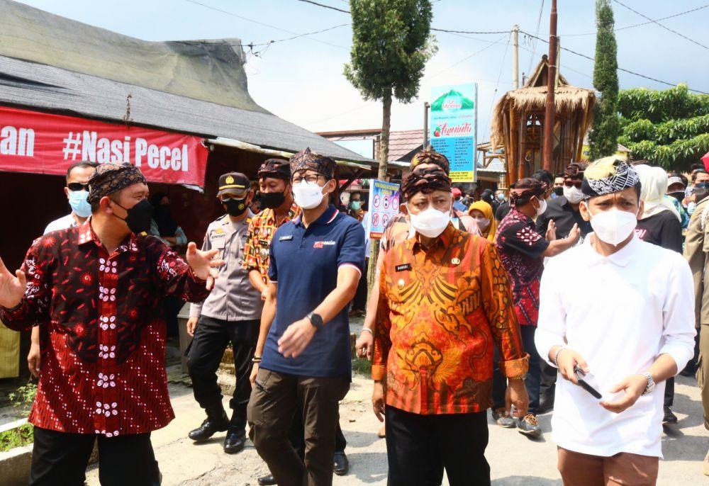 Pujon Kidul Jadi Desa Wisata, Sandiaga: Setahun Bisa Hasilnya Rp1,2 M