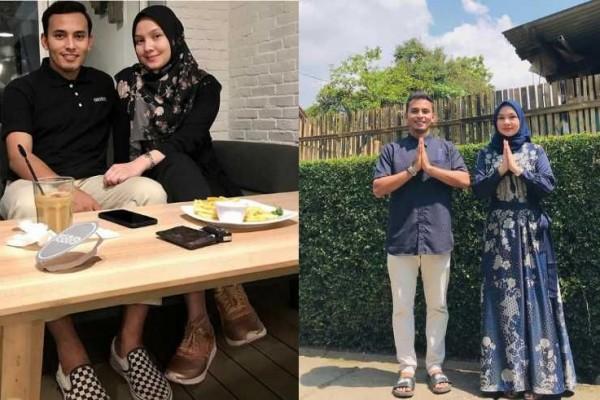 Jadi Suami Jahat di FTV, 9 Potret Mesra Rifky Alhabsyi dan Istri