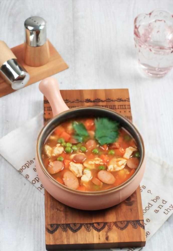 Resep Sup Sosis Tomat, Pilihan Menu Sahur yang Simpel dan Praktis