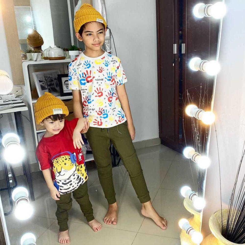 10 Potret Imut Keriym, Putra Zee Zee Shahab yang Bak Artis Cilik Korea