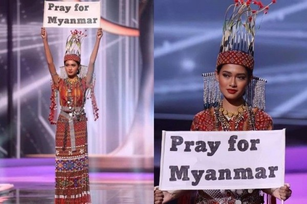 Best National Costume, 10 Pesona Candy Thuzar di Miss Universe 2020
