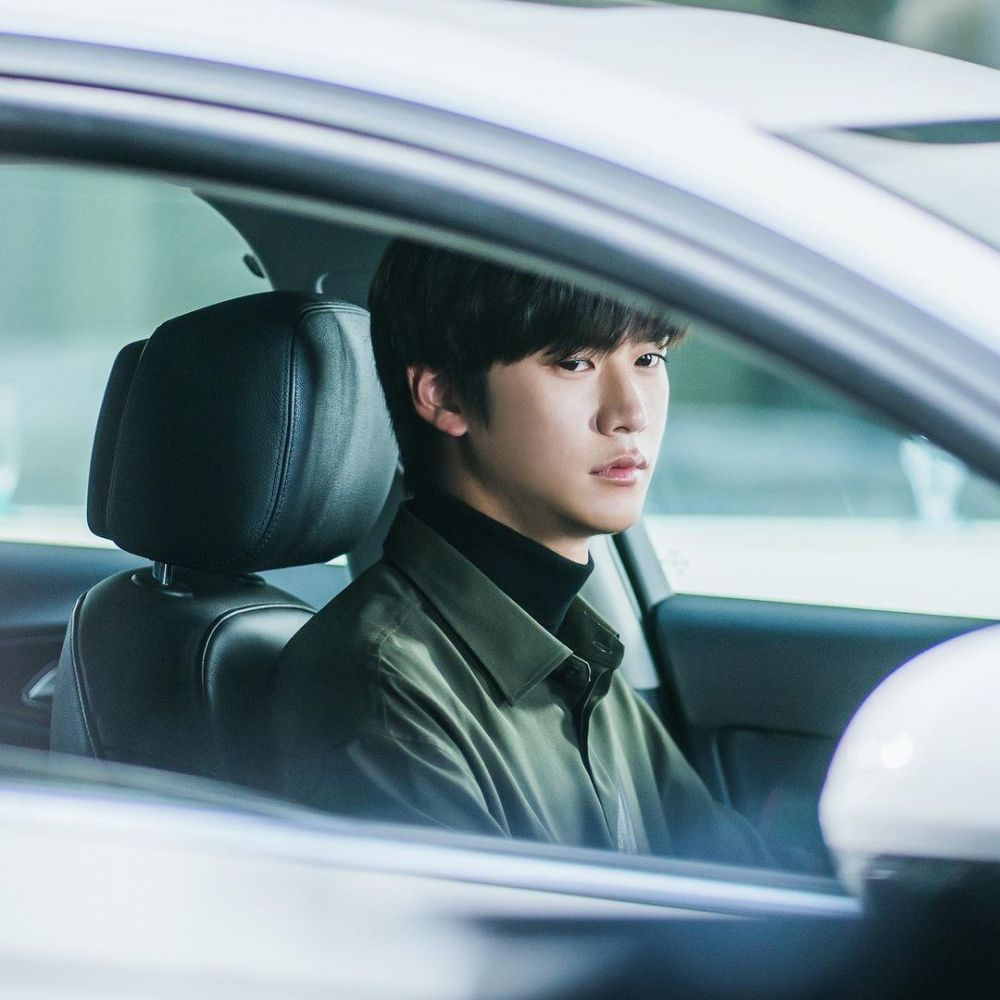 10 Potret Na In Woo, Jadi Cameo di 'At A Distance Spring Is Green'