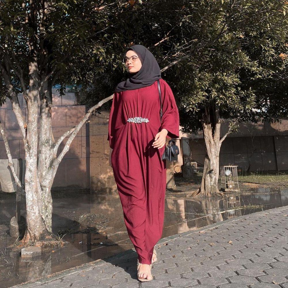 Simpel, 9 Ide Baju Lebaran ala Selebgram Nadia Nur Aulya