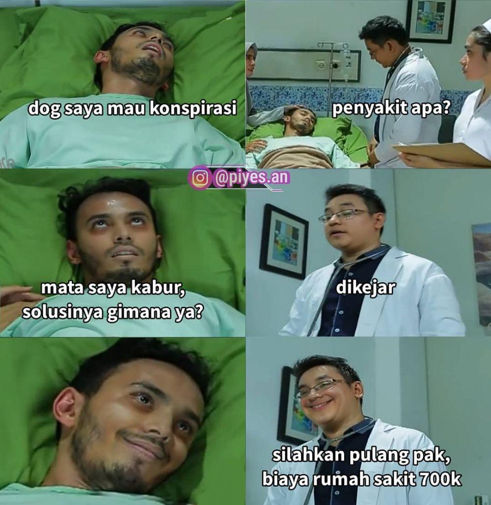 10 Meme Lucu Percakapan Pasien dan Dokter di Sinetron Indonesia