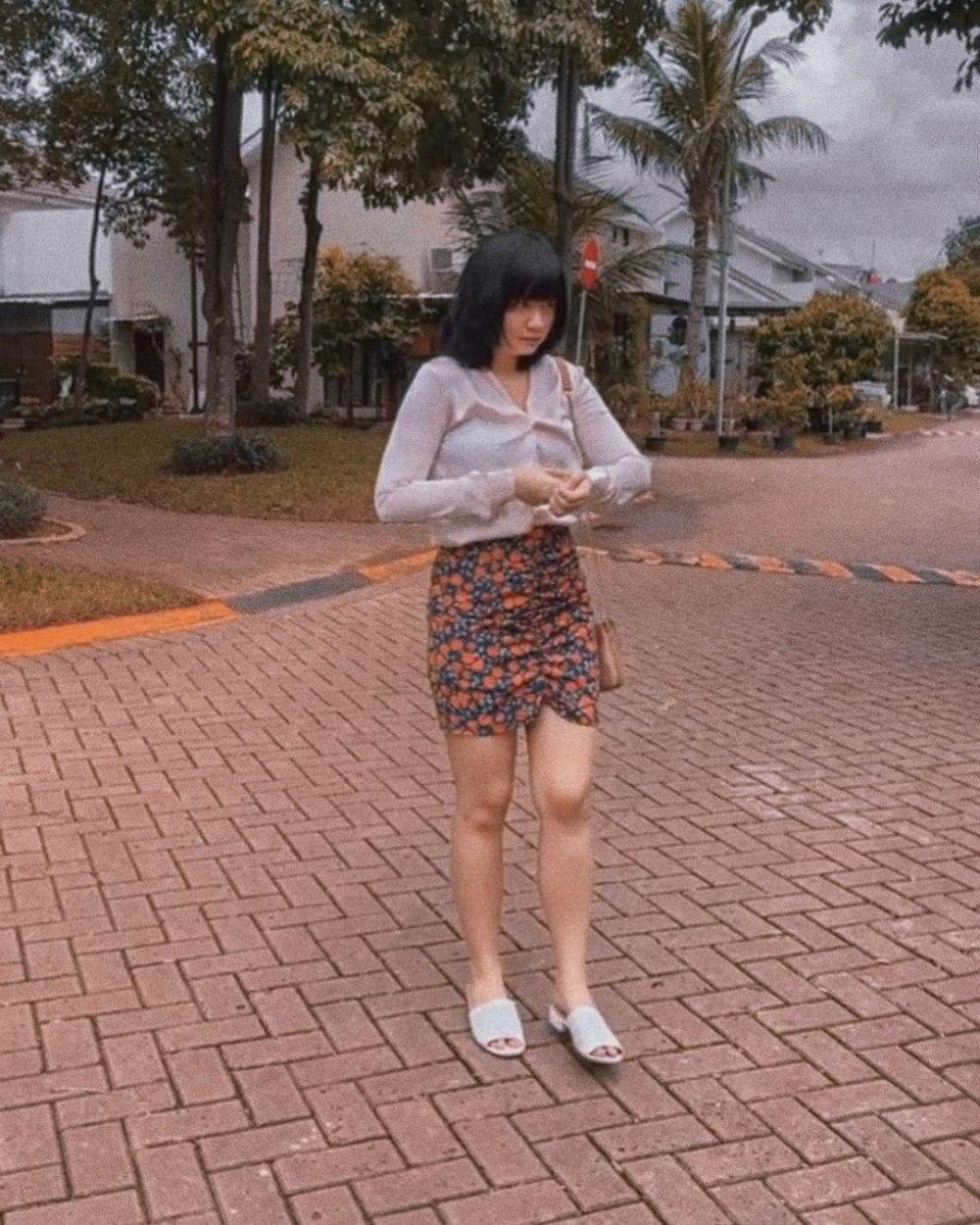 10 Mix and Match Mini Skirt Ala Cynantia Pratita, Adorable!