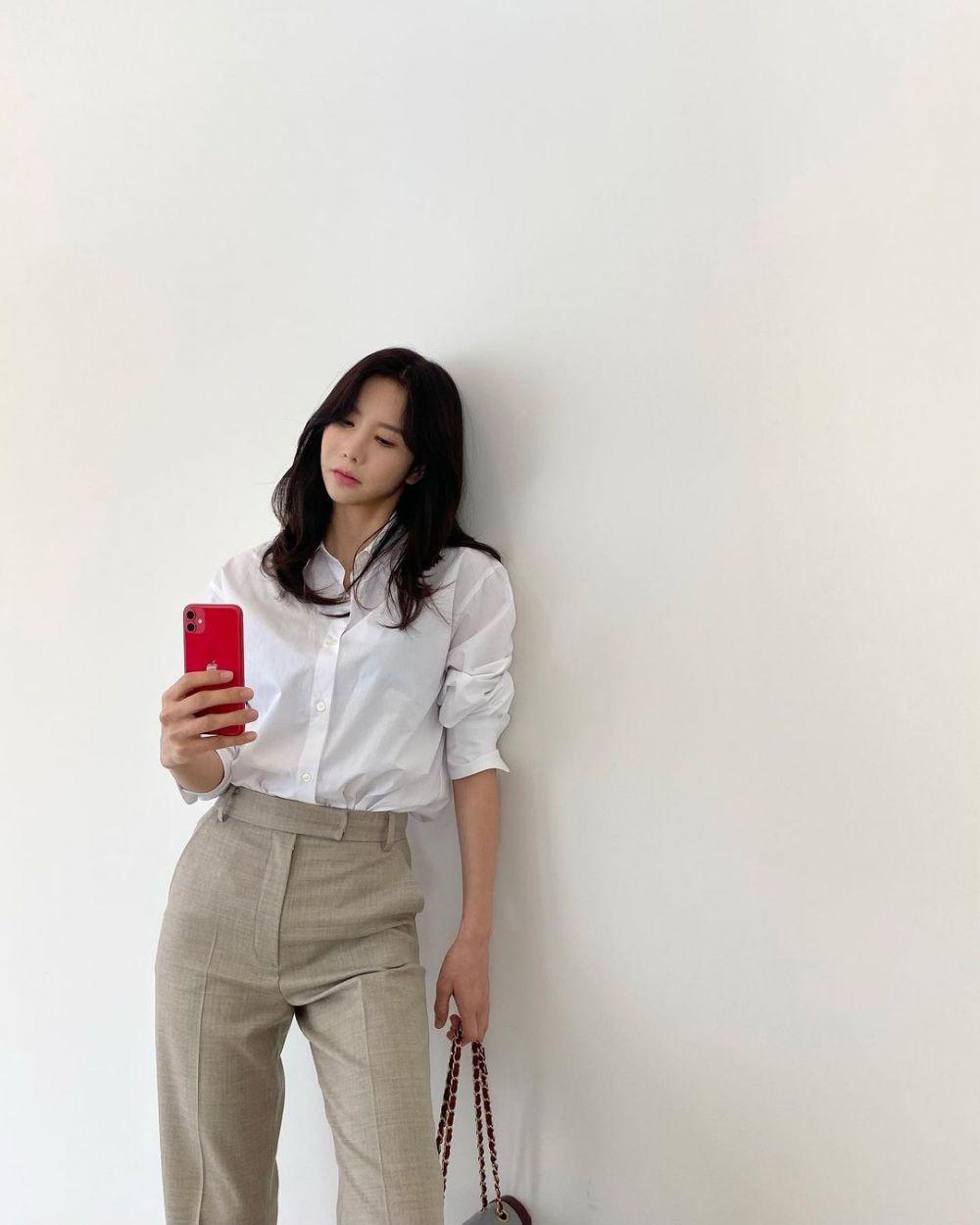 10 Potret Jung Ah, Eks After School yang Tengah Hamil Anak Kedua