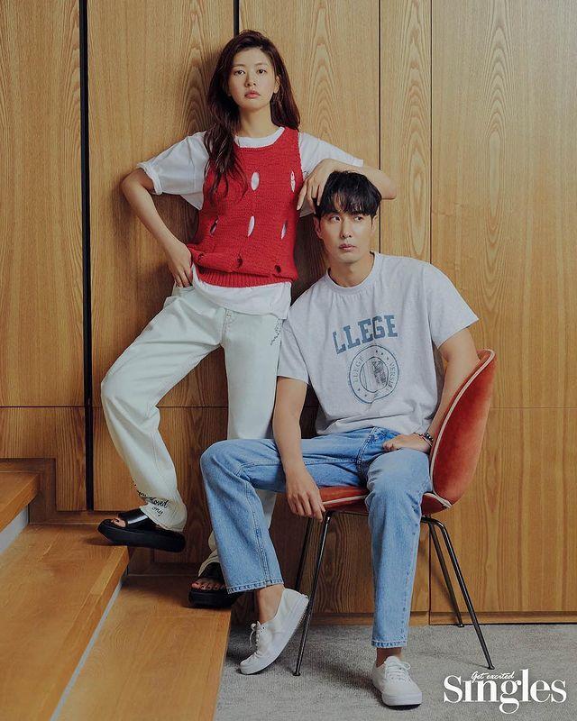 Jatuh Cinta ke Bapak Kontrakan, 10 Chemistry Jung Somin & Kim Ji Seok