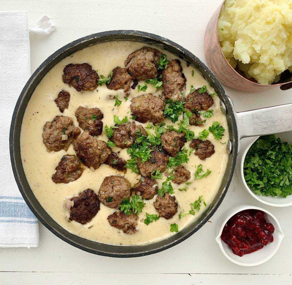 9 Hidangan Berbahan Daging Giling Asal Negara Skandinavia, Nikmat!