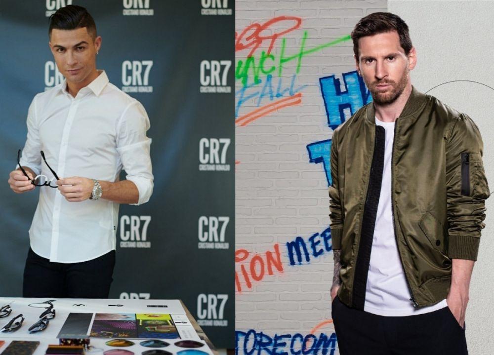 9 Adu Gaya Messi vs Ronaldo Saat di Luar Lapangan, Kece Banget!