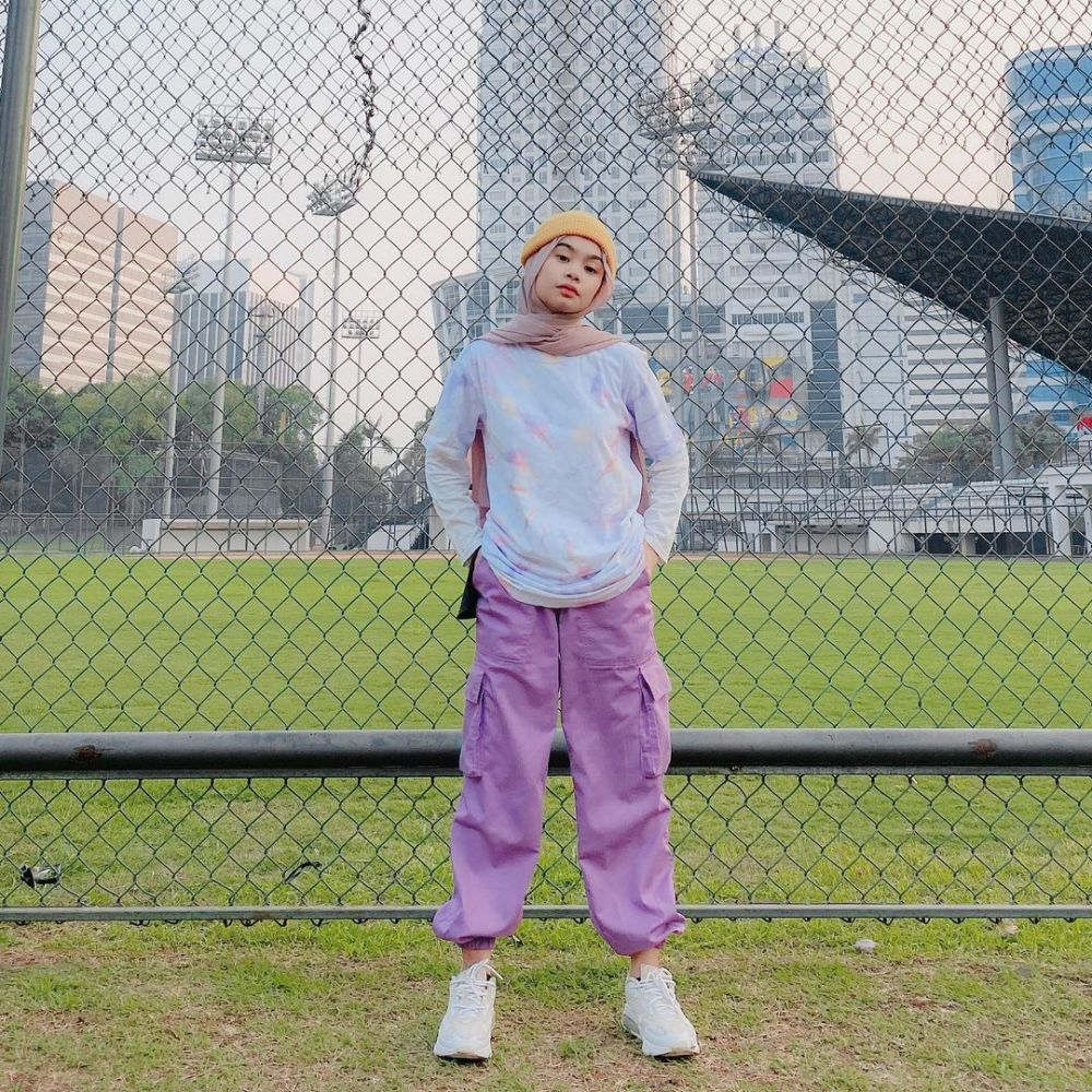 10 Ide Mix and Match Lilac Outfit ala Nola Clara, Hype!