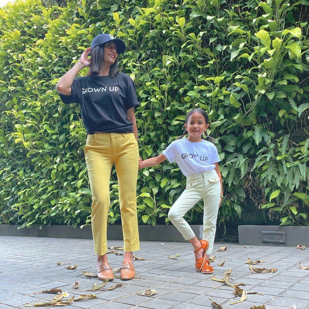 9 Potret Maja Abia, Anak Bungsu Natasha Dewanti yang Fashionable Abis