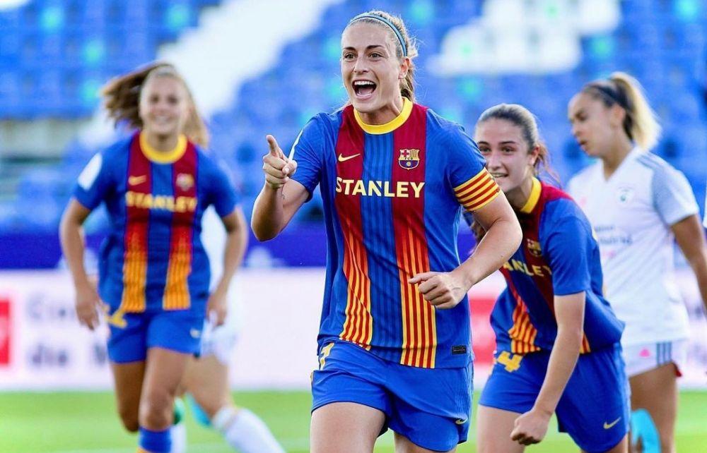 9 Potret Alexia Putellas, Pesepak Bola Spanyol yang Kece Badai!