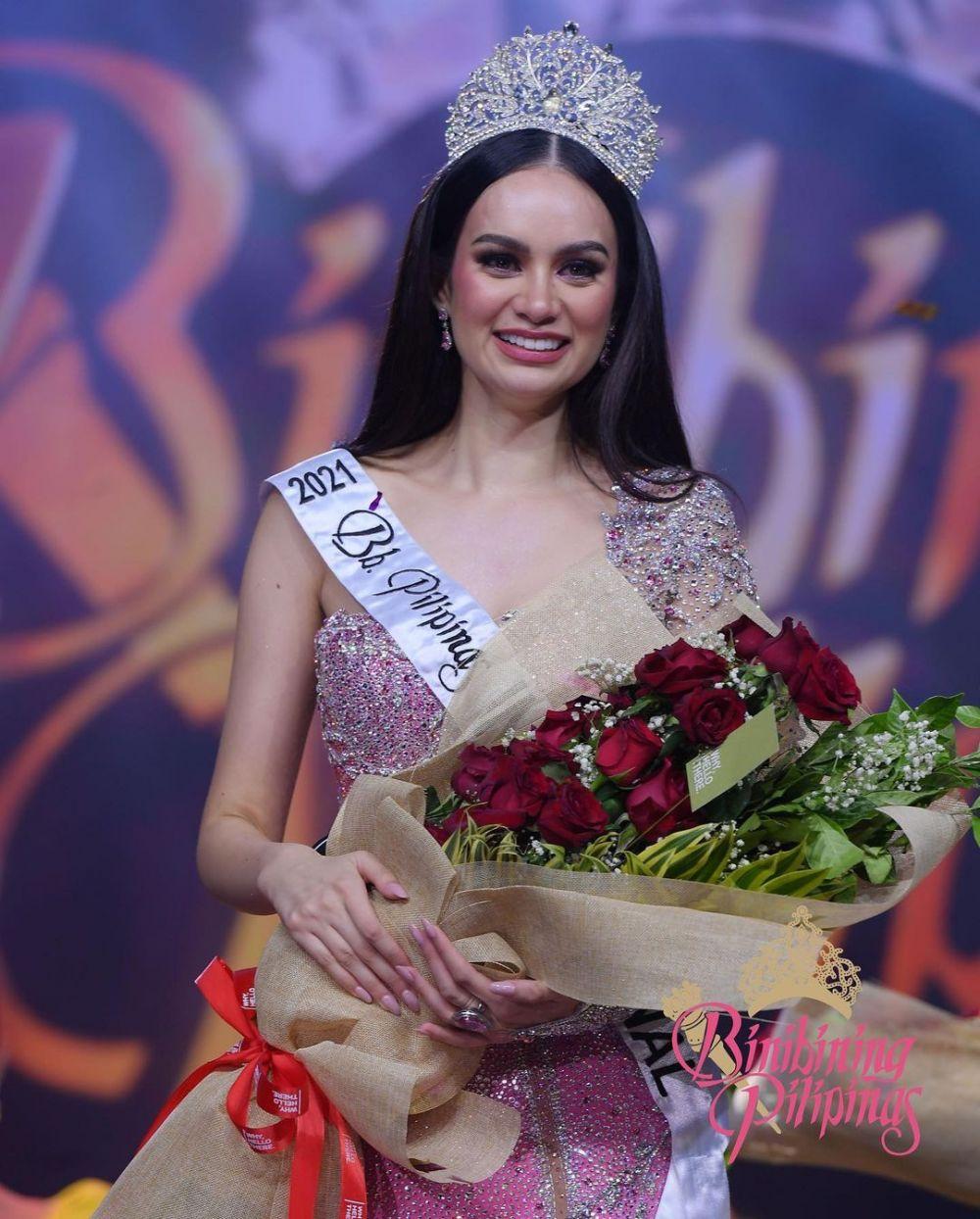 Bikin Terpana, 9 Fakta Hannah Arnold Miss International Filipina 2021
