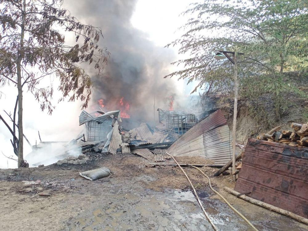 Tambang Minyak di Bojonegoro Terbakar, Tak Ada Korban Jiwa
