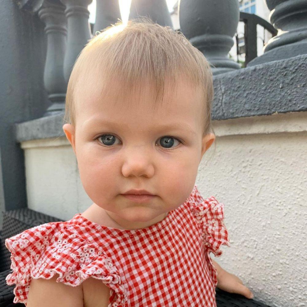 10 Potret Olivia, Anak Marissa Nasution yang Bermata Indah