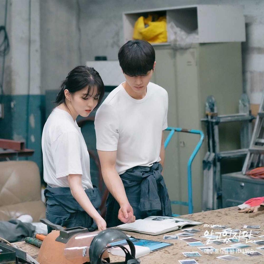 10 Adu Mesra Han So Hee-Song Kang vs Chae Jong Hyeop di Nevertheless