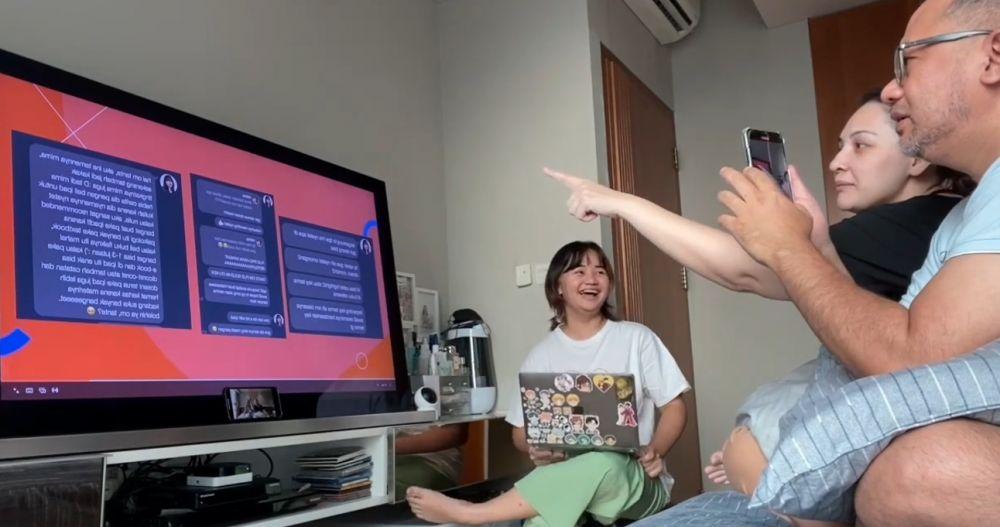 Izin Beli iPad, 10 Potret Mima Shafa Anak Mona Ratuliu Ajukan Poposal