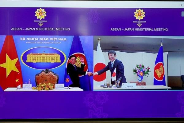 Jepang-ASEAN Serukan Kebebasan Navigasi Laut China Selatan