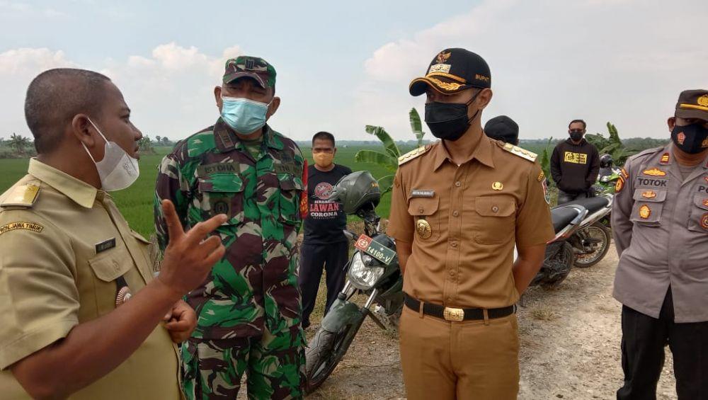 Sidak ke Daerah Langganan Banjir, Bupati Tuban Siapkan Dana Rp5 Miliar