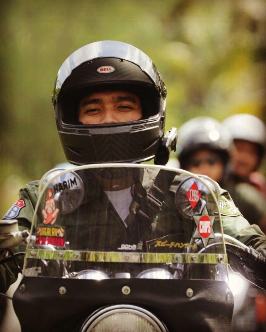 Anggota Geng Motor The Prediksi, 10 Potret Aksi Imam Darto di Jalanan