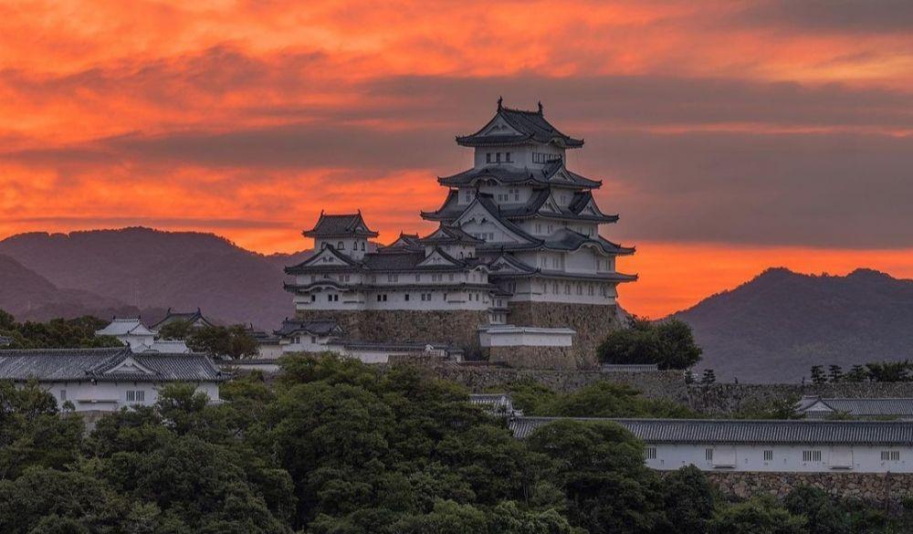 9 Fakta Kastil Himeji di Jepang yang Kabarnya Menjadi Kastil Berhantu