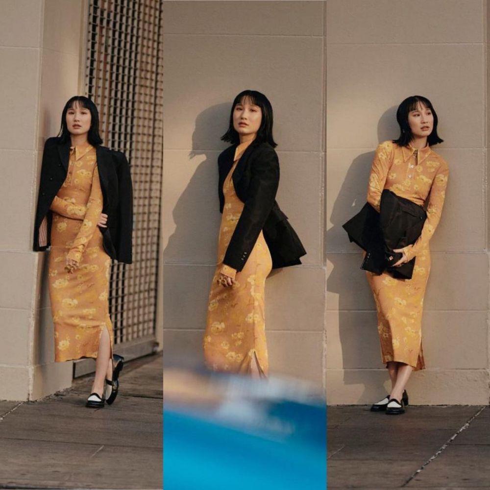 9 Potret Menawan Meng'er Zhang, Pemeran Xialing di Film Shang-Chi
