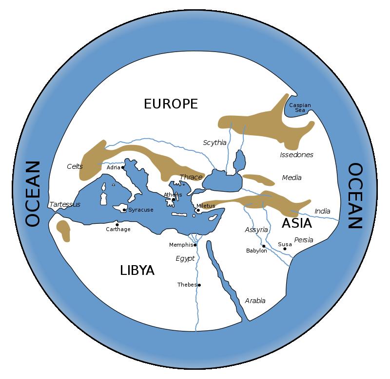 5 Peta Tertua yang Ada di Dunia, Mencakup Wilayah Mana Saja?
