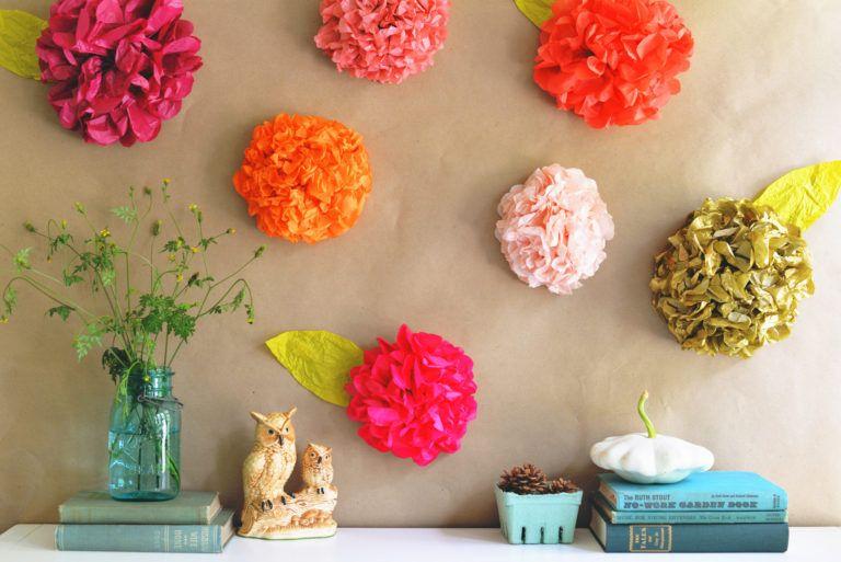 9 Ide DIY Dekorasi Dinding dari Kertas, Hemat dan Ramah Lingkungan