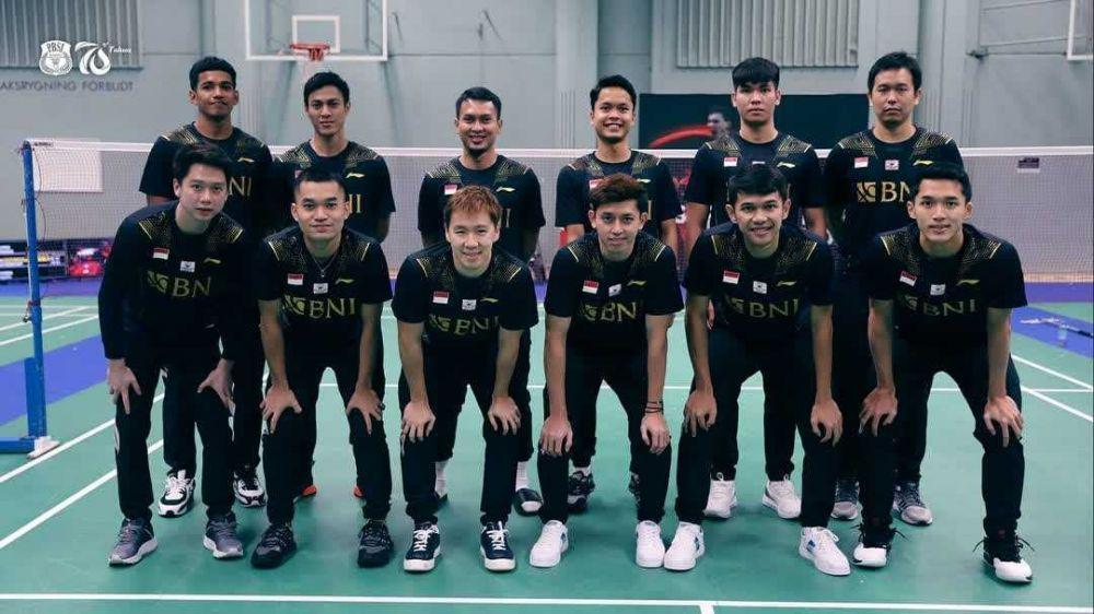 Shesar Hiren Menang, Indonesia Juara Grup A Piala Thomas 2020
