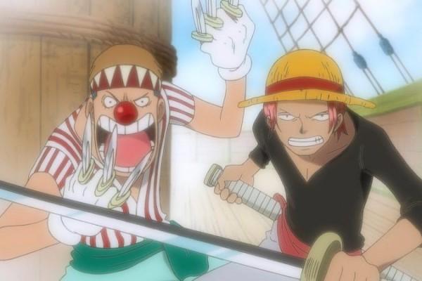 [One Piece] Shanks dan Buggy Sudah Ikut Gol D. Roger Sejak Kecil!