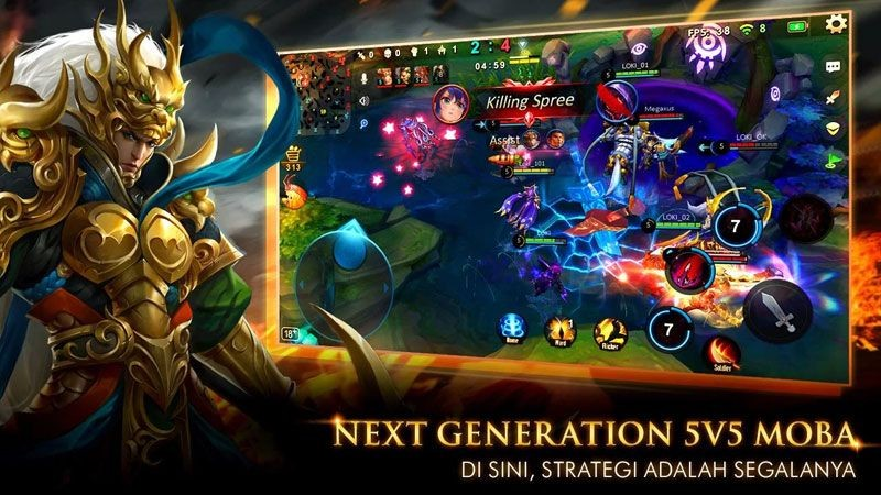 Game MOBA Megaxus Legend of Kingdoms Mulai Buka Pra Registrasi