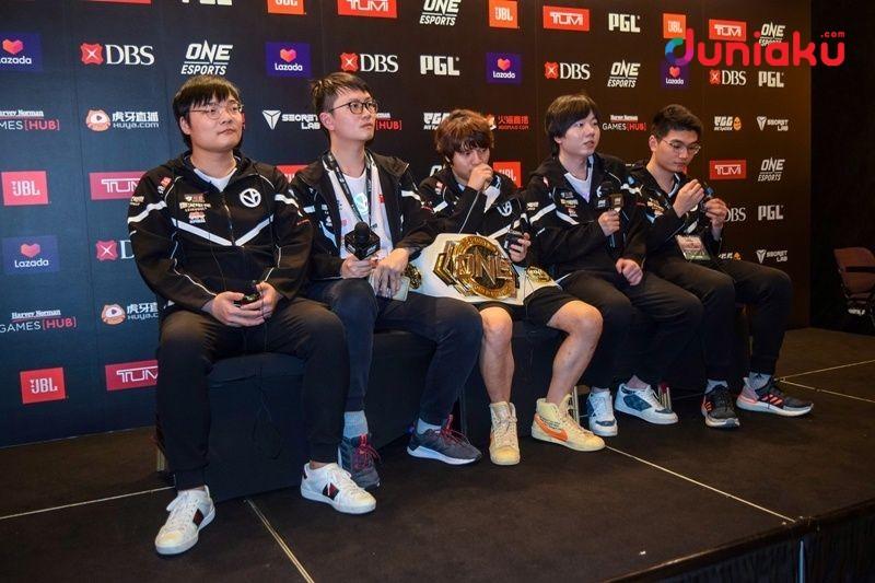 Taklukkan EG, Vici Gaming Juarai Dota 2 World Pro Invitational!