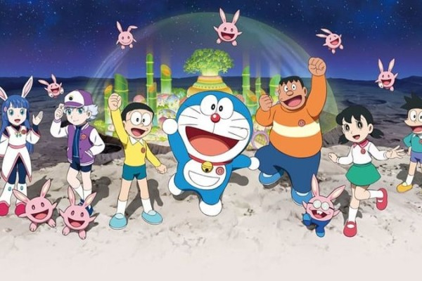 Doraemon Chronicle of The Moon Exploration Tayang di Indonesia Maret!