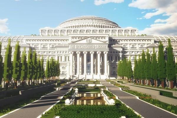 Perpustakaan Minecraft Simpan Berita-Berita Terlarang dari Dunia