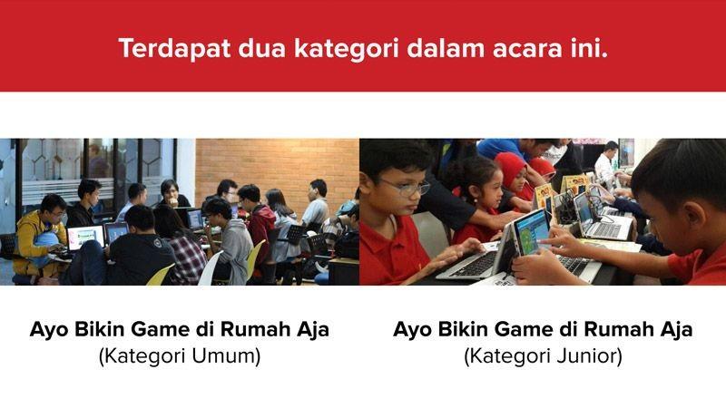Lebih dari 200 Game Dibuat di Kompetisi Ayo Bikin Game di Rumah Aja