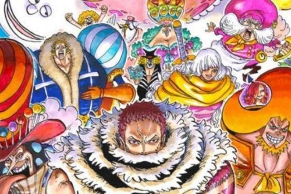 Peringkat 9 Anggota Bajak Laut Big Mom Terkuat di One Piece