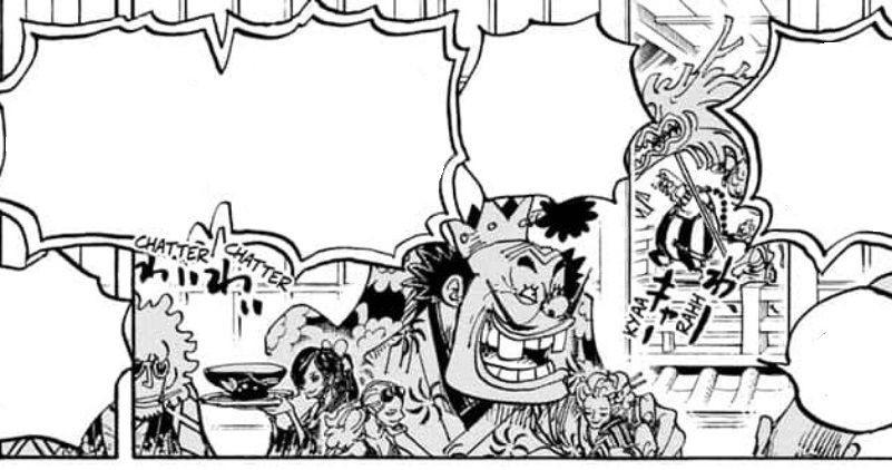One Piece 978 Beri Petunjuk Anak-Anak Big Mom Akan ke Onigashima