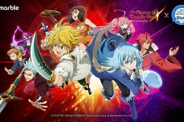 Meliodas Bisa Ketemu Rimuru di The Seven Deadly Sins: Grand Cross?!