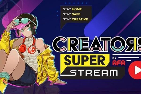 Creators Super Stream, EventCreators Super Fest Hadir Secara Online!