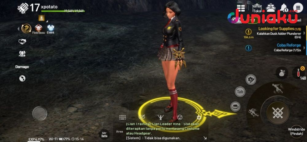 Visual Keren, Enteng Grinding? Ini Review Blade and Soul Revolution!
