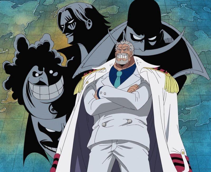 3 Kesalahan Garp yang Bikin Luffy Jadi Bajak Laut di One Piece
