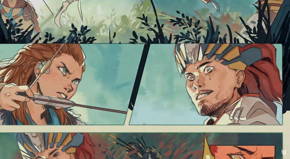Mengintip Komik Horizon Zero Dawn Lebih Dalam Bersama Ann Maulina