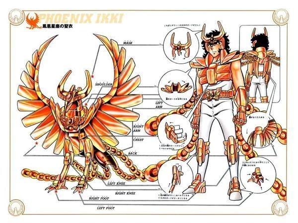 7 Fakta Phoenix Ikki Saint Seiya, Kakak Andromeda Shun!